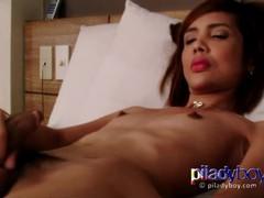 Small tits redhead filipina ladyboy wanking her hairy cock and cum semen, Asian, Masturbation, Teen (18+), Small Tits, Transgender videos