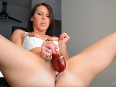 Hot milf riley jacobs fisting and panty stuffing, Fisting, Toys, MILF, Pornstar, Compilation videos