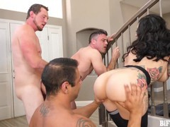 Lily lane gets two dicks to fuck her and each other!, Big Ass, Big Tits, Hardcore, Threesome, Bisexual Male movies at find-best-panties.com