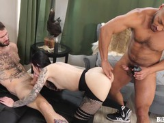 Mmf bisex threesomes are just more fucking fun!, Big Ass, Babe, Big Tits, Blowjob, Handjob, Hardcore, Bisexual Male videos