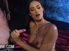 Submissive claire castel dominated in a hot gangbang, Brunette, Blowjob, Pornstar, Anal, Small Tits, Double Penetration, Gangbang, Role Play, Pussy Licking movies at find-best-mature.com