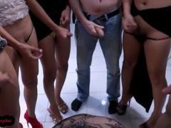 7 boys and ladyboys gangbang bukkake asiannymphet, Amateur, Blowjob, Bukkake, Cumshot, Fetish, Hardcore, Transgender, Verified Amateurs videos
