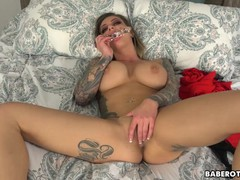 Solo blonde, karma rx is using a glass dildo, in 4k, Babe, Toys, Pornstar movies at kilomatures.com