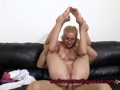 Cute blonde in glasses anal and cum facial, Amateur, Babe, Blonde, Cumshot, Anal, Teen (18+), Casting movies at find-best-babes.com