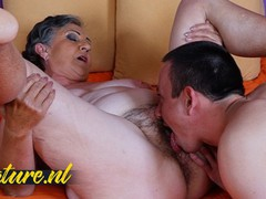 Hot granny gets hairy pussy eaten & fucked by toyboy, Amateur, Fetish, Hardcore, Masturbation, Mature, Pussy Licking, Old/Young movies at find-best-babes.com