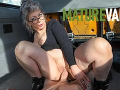 Granny craving a piece in the maturevan, Big Ass, Big Dick, Blowjob, Handjob, Masturbation, Mature, Rough Sex, Old/Young movies at find-best-babes.com