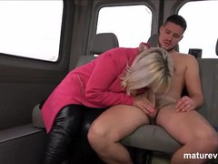 Chubby granny picks up cock at maturevan, BBW, Cumshot, Hardcore, Mature, Old/Young movies at find-best-babes.com