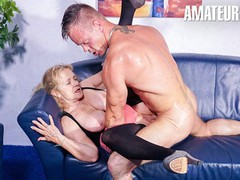 Hausfrauficken - blonde german granny hardcore cheating sex with young stud - amateureuro, Amateur, BBW, Big Tits, Mature, German, Old/Young movies at find-best-babes.com