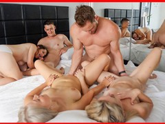 Swingers orgy - bisexual group sex with double squirt, Amateur, Blonde, Small Tits, Gangbang, Verified Amateurs videos