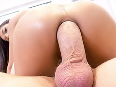 Holed big dick inserted into tight round ass, Babe, Brunette, Blowjob, Pornstar, Anal, 60FPS movies at find-best-mature.com