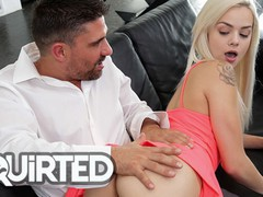Squirted - petite babe elsa jean gets her pussy destroyed by a hard cock, Babe, Big Dick, Blonde, Cumshot, Handjob, Pornstar, Teen (18+), Small Tits, Squirt videos