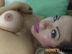 Curvy latina trans renata pazzini sensually strokes herself, Big Ass, Big Dick, Big Tits, Creampie, Masturbation, Teen (18+), Transgender tubes