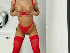 Hot girl rub pussy in beautiful red lingerie cumming, Amateur, Big Ass, Babe, Masturbation, Teen (18+), Exclusive, Verified Amateurs movies