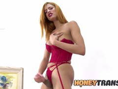 Trans bombshell brianca mors lingerie masturbation, Big Ass, Big Dick, Big Tits, Masturbation, Teen (18+), Transgender videos