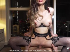 Whornyfilms- hot pov anal with big tits babe in sexy lingerie, Babe, Big Dick, Brunette, Blowjob, Cumshot, Hardcore, Pornstar, Anal, POV tubes