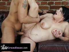 Lustygrandmas bbw gilf devours zaddy's foot long cock with her vintage pussy, Big Ass, BBW, Big Tits, Brunette, Mature, MILF movies at find-best-babes.com