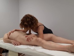 Nice back massage with a happy ending, Babe, Big Dick, Blowjob, Cumshot, Small Tits, Massage, Czech, Exclusive, Verified Amateurs movies at freekiloclips.com