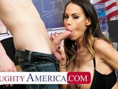 Naughty america - mckenzie lee fucks her student so he can focus better in class, Babe, Big Dick, Big Tits, Brunette, Blowjob, Handjob, Hardcore, MILF, Pornstar videos