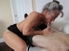 Mature cougar seduces the it tech, Blowjob, Cumshot, Mature, MILF, Pornstar, Small Tits, Pussy Licking, Verified Models, Old/Young movies at find-best-babes.com