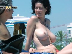 Smoothest nudists play together in the warm water, Big Tits, Public, MILF movies at find-best-panties.com