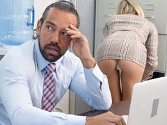 Passion-hd office tease gets bosses dick hard, Big Dick, Blonde, Creampie, Hardcore, Pornstar, Small Tits tubes