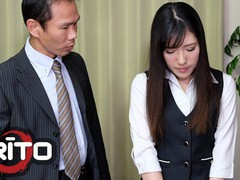 Erito - sexy japanese secretary gets creampied by her boss at the office, Brunette, Blowjob, Creampie, Small Tits, Japanese movies at find-best-lingerie.com