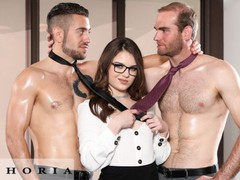Biphoria - office meeting turns to bisexual threesome, Big Dick, Brunette, Blowjob, Public, Anal, Threesome, Bisexual Male, Pussy Licking movies at find-best-babes.com