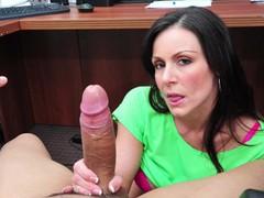 Bangbros - full video: office blowjob with milf kendra lust, Babe, Big Dick, Big Tits, Blowjob, Cumshot, Pornstar tubes