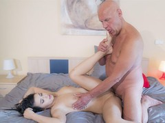 Bald old guy can barely fuck, Babe, Blowjob, Fetish, Masturbation, Small Tits, Pussy Licking, Old/Young movies at nastyadult.info