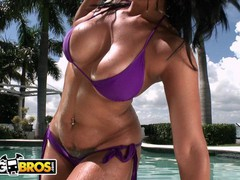 Bangbros - curvy babe miss raquel taking anal on a bright sunny day, Brunette, Blowjob, Hardcore, Pornstar, Anal tubes