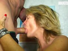Xxx omas - german mature big tits milf hot cheating fuck - amateureuro, Big Ass, Big Tits, Blowjob, Cumshot, Mature, Rough Sex, German, Pussy Licking movies at freekilomovies.com