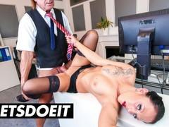 Bumsbuero - office boss fucks his sexy milf secretary kate nox - letsdoeit, Big Ass, Big Dick, Big Tits, Blowjob, Cumshot, Hardcore, Reality, German tubes