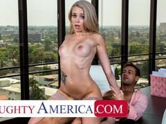 Naughty america - blonde stunner, madison summers, fucks friend's dad in his office to keep job, Babe, Big Dick, Blonde, Hardcore, Masturbation movies at freekilomovies.com