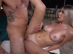 Yngr - beautiful bri klein gets her pussy fucked by the pool, Babe, Big Dick, Big Tits, Blonde, Blowjob, Teen (18+) movies