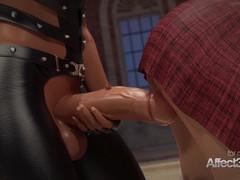 3d animation lesbians having futa sex in a musemum in hd, Big Ass, Babe, Big Tits, Hentai videos