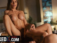 Mixedx lesbian milf kitana lure use her�innocent stepsis, alexa, to satisfy her sexual needs, Big Ass, Big Tits, Brunette, Lesbian, Pornstar, Pussy Licking, Old/Young movies