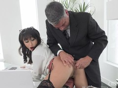 Anal hardcore at the office for petite isabella nice after she deepthroats her coworker, Brunette, Blowjob, Hardcore, Toys, Pornstar, Anal, Small Tits movies at kilomatures.com