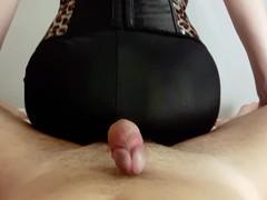 Milf makes assjob in spandex pants. Сum on my yoga pants pov, Amateur, Big Ass, Fetish, MILF, POV, Euro, Exclusive, Verified Amateurs videos