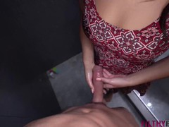 Hot stepsister walks in on stepbrother in shower and gets fucked, Big Ass, Big Dick, Blowjob, Pornstar, Teen (18+), POV, Rough Sex movies