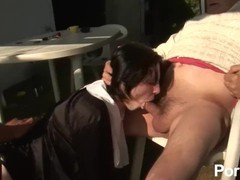 Papy voyeur volume 33 - scene 1, Hardcore, Threesome, Role Play, French movies at find-best-pussy.com