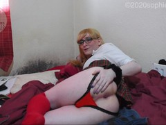 Sophiesweets caged and buttwanking in school uniform for a lucky tinder boy (lockdown flirting!), Amateur, Blonde, Toys, Anal, Small Tits, Transgender, British, 60FPS, Exclusive, Verified Amateurs, Cosplay movies