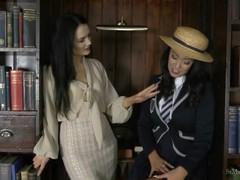St mackenzie's - miss taylor strips student lauren to try on her uniform, Babe, Big Tits, Brunette, Fetish, Lesbian, Pornstar movies at find-best-mature.com