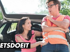 Doeprojects - francys belle pays car mechanic with her tight pussy - letsdoeit, Big Dick, Blowjob, Cumshot, Hardcore, Public, MILF, Pornstar, Reality, Brazilian movies