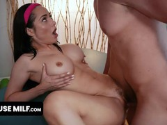 Gorgeous big titted milf in leotard gets free used by her yoga instructor during exercises, Blowjob, Cumshot, Handjob, Hardcore, MILF, Pornstar, Pussy Licking movies at freekiloporn.com
