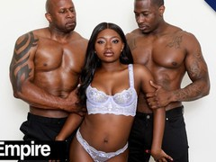 Xempire - gorgeous ebony noemie bilas' 1st dp, Big Ass, Big Dick, Big Tits, Brunette, Blowjob, Ebony, Hardcore, Pornstar, Double Penetration movies at find-best-lingerie.com