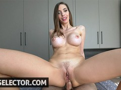 Sweet bunny escort lathers up before you fuck her pussy, Babe, Big Dick, Big Tits, Brunette, Blowjob, Hardcore, POV movies at freekiloporn.com