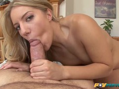 Povperverts - small tits natural babe candice dare takes it in every hole, Big Ass, Blonde, Blowjob, Cumshot, Pornstar, Anal, POV, Small Tits movies at find-best-hardcore.com