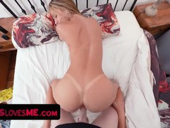 Pretty little babe welcums her big stepbrother with a sloppy blowjob while their parents are away, Big Ass, Big Dick, Blowjob, Cumshot, Hardcore, Pornstar, POV, Small Tits movies at find-best-hardcore.com