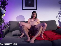 Pawg camgirl milf sandy_lou rides dildo double anal  cam4, Amateur, Hardcore, POV, Small Tits, Rough Sex, Double Penetration, French, Old/Young movies at kilopills.com