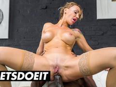 Herlimit - milf russian model elen million anal riding a big black cock full scene, Big Ass, Big Tits, Hardcore, Interracial, MILF, Pornstar, Anal, Rough Sex, Squirt tubes